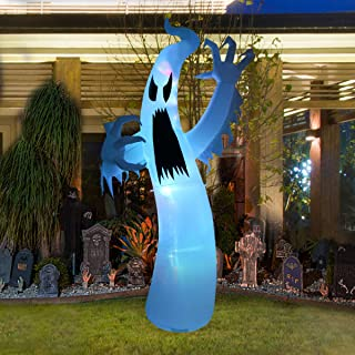 LAOSSC 12 Foot Halloween Inflatable Ghost Halloween Decorations for Indoor and Outdoor - Lanterns Lighted Holiday Home Décor
