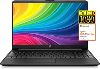 "2021 Newest HP Notebook 15 Laptop, 15.6"" Full HD Screen, Intel Celeron N4020 Processor, 8GB RAM, 128GB SSD, 1-Year Microso..."