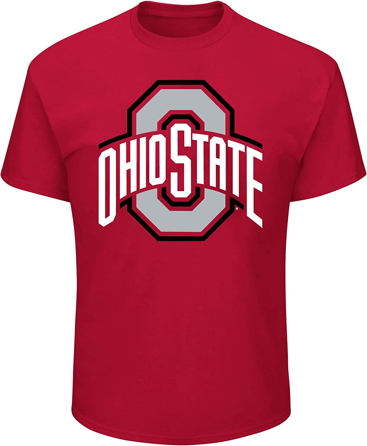NCAA Men's Big and Tall Short Sleeve Shirt- Team Cotton Tee Colo Popular shop is the lowest price challenge Luxury