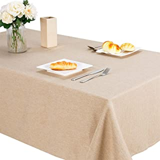 Jzy Heavy Duty Cotton Linen Tablecloth