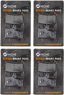 NICHE Brake Pad Set For Triumph Bonneville Thunerbird Sprint Speed Four Triple T2020553 Front Semi-Metallic 4 Pack