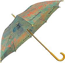 [世界の名画シリーズ] 長傘 雨傘 ヴィーナス ガーデン チャペル ポピー ムーラン・ド・ラ・ギャレット