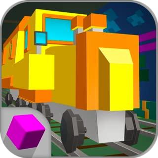Cube Subway Train Simulator 3D