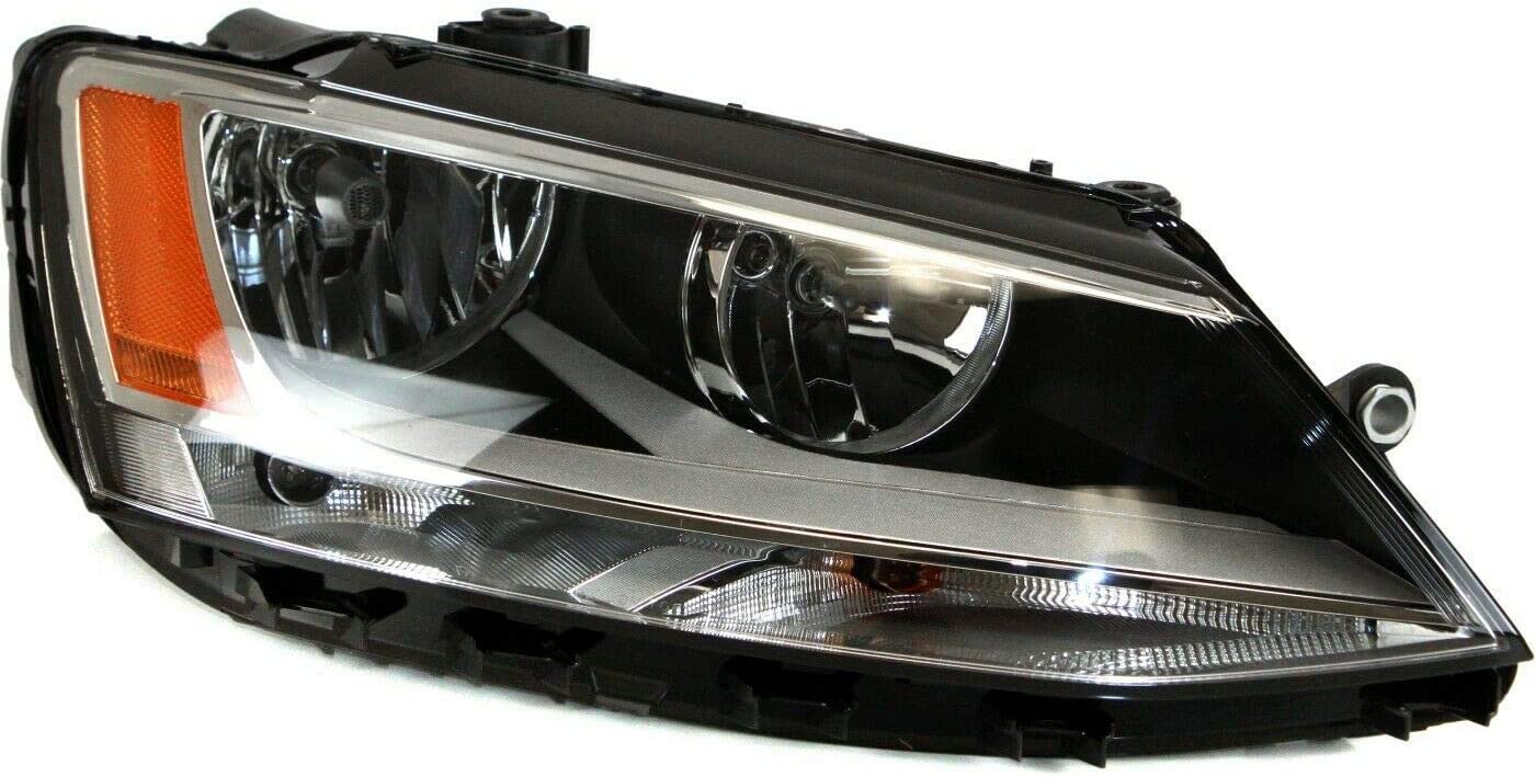 zxz Ranking TOP10 Headlight compatible with 2011-2014 Sedan With Bulb Same day shipping Right