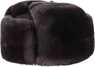 Colbacco con Pelliccia Marrone Unisex Cappello Invernale