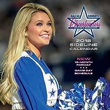 Dallas Cowboys Cheerleaders 2018 Sideline Calendar