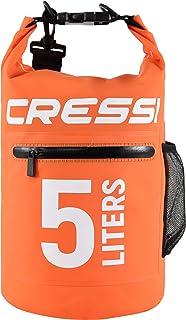 Cressi Dry Bag with Zip Bolsillos con Correa de Hombro Ajustable, Unisex Adulto