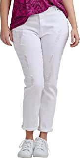 Best distressed white jeans plus size Reviews