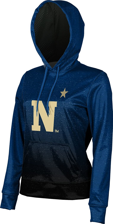 United States Naval Academy University Girls' Pullover Hoodie, School Spirit Sweatshirt (Ombre)