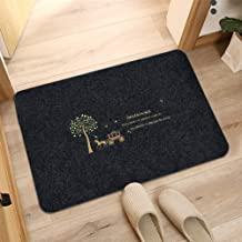 Floor Mat Home Textile Non-Slip Absorbent Pad Toilet Mat Kitchen Bathroom Dusting Mat Home Bedroom Bedside Rug Polyester F...
