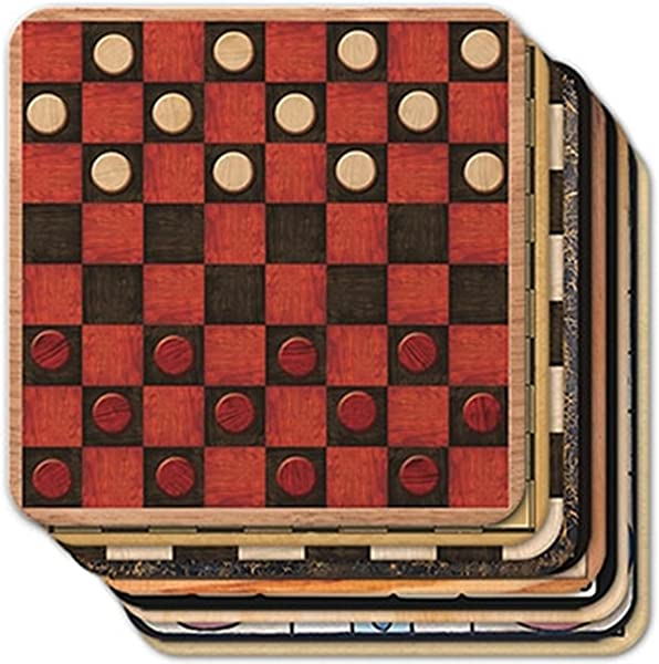 Epic Products Game Boards Coasters Set Of 25