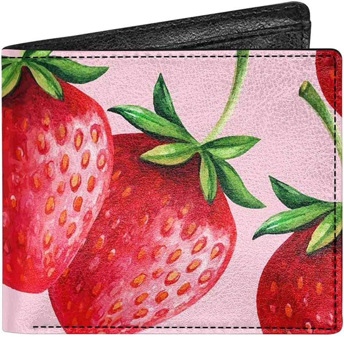 INTERESTPRINT Splatter Pattern Adults Casual PU Leather Credit Card Wallet with Coin Pocket