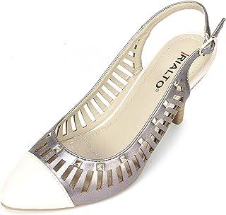 Rialto Womens Martina Closed Toe SlingBack Classic Pumps [並行輸入品]