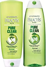 Garnier Fructis Pure Clean Fortifying, DUO Set Shampoo + Conditioner, 13 Ounce, 1 Each