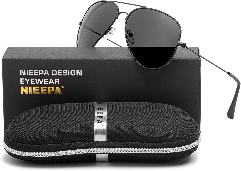 Aviator Polarized Sunglasses Classic Metal Frame TAC Lenses Driving Sun Glasses Retro Mens Womens Eyewear UV400 Predection
