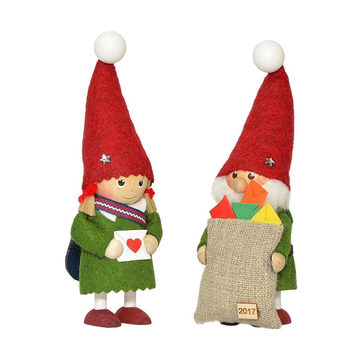 翻訳さわやか天のNORDIKA nisse ノルディカ ニッセ クリスマス 木製人形 (2017 イヤーズノルディカセット / NRD120562)