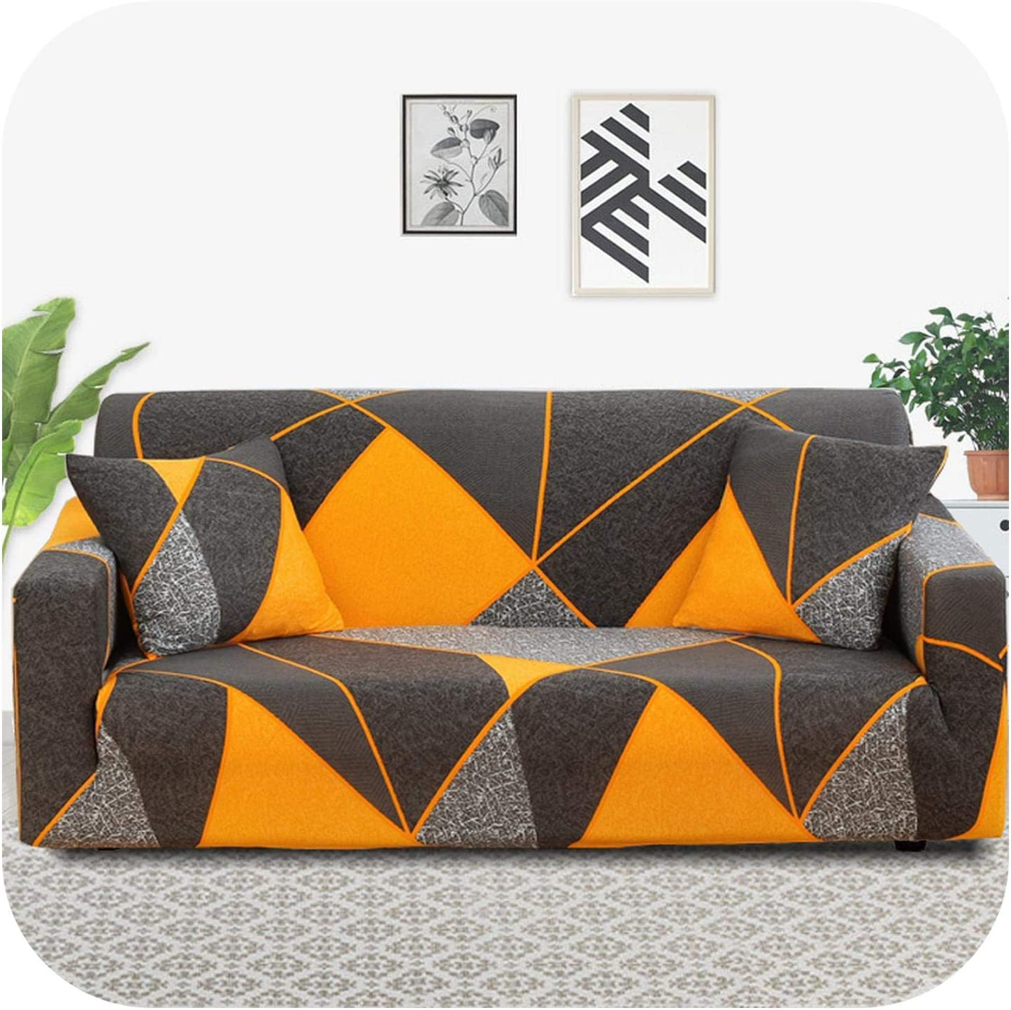 FAT SHEEP Pmxxy Geometric Sofa All stores are sold Cover Room for Spandex Ela Living Omaha Mall