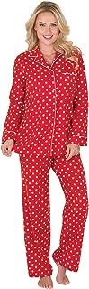 Flannel Pajamas Women Cozy - Boyfriend Pajamas for Women