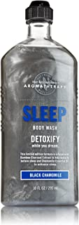 Bath & Body Works Aromatherapy Sleep - Detoxify - Black Chamomile Body Wash - 10 Oz