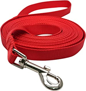 Hulless Dog Leash Nylon Training Leash Dog Traction Rope Dog Leashes for Small Dogs, Great for Dog Training, Play, Camping or Backyard.