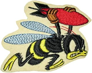 21st Bomber Squadron 1942 Bomber Jacket BEE [4.5] Iron on Patch