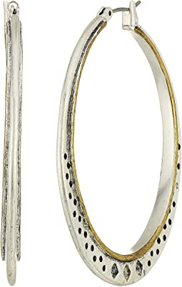 Lucky Brand - Openwork Hoop Earrings