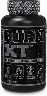 Burn XT Black Thermogenic Fat Burner - Weight Loss Supplement, Appetite Suppressant, Nootropic Energy Booster W/TeaCrine - Premium Acetyl L-Carnitine, Green Tea Extract, Capsimax - 90 Veg Diet Pills