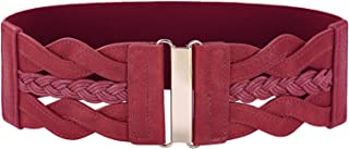 Image result for wine colored womens suede belt