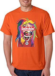 Men's T Shirt Stop Snitchin 69 Cool Tee Trendy Fans Gift