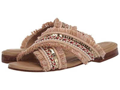 KAANAS Ibiza Crossover Sandal (Sand) Women