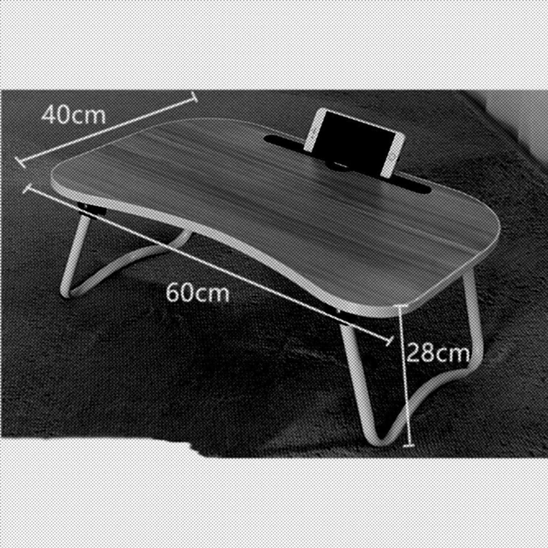 WaWei Folding Desk Portable Laptop Table Folds 4 colors (color   B)