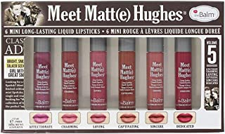the Balm Lip Stick Liquid Long Lasting Set of 6 Colour - Pack of 1