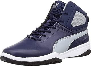 Puma Men's Rebound Bbx Mesh Idp Peacoat-Quarry Sneakers
