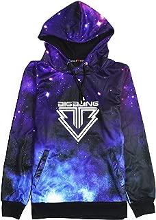 Fanstown Kpop Starry Sky Pullover Hoodie Hiphop Thicken Hoodie Sweatshirt with lomo Cards