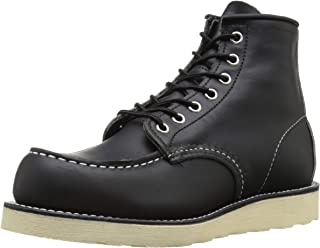red wing classic moc black