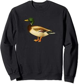 Mallard Duck Sweatshirt Cute Duck Wild Duck Lover Gift