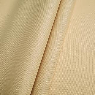 Erstklassiger Polyester Oxford 250D 1lfm - Wasserabweisend, Winddicht, Outdoor Stoff, Gartenmöbel Stoff Hellbeige