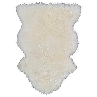 IKEA Rens Sheepskin, White