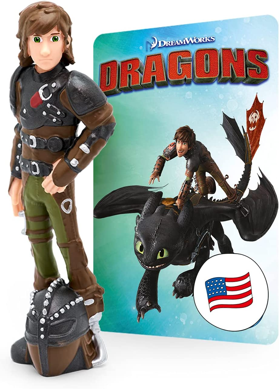 Tonies How to Train Your Dragon Tonie - Hear Stories about the Adventures of Dragons from Berk - Screen-Free Audio Book for use with Toniebox