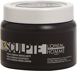 L'Oreal Paris Homme Force 3 Sculpte Sculpting Fibre Paste, 150g