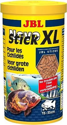 JBL 302818 Novostick XL Alimento Básico para Cíclidos Carnívoros Grandes, 1 l