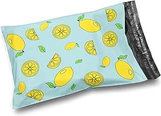 Shop4Mailers 10 x 13 光面柠檬色塑料袋邮寄信封袋 2 毫米 100 Pack 柠檬黄