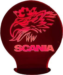 SCANIA Grifone, Lampada illusione 3D con LED - 7 colori.