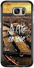 La Vie en Rose Paris France Retro Vintage Design case for Samsung Galaxy S7 Edge