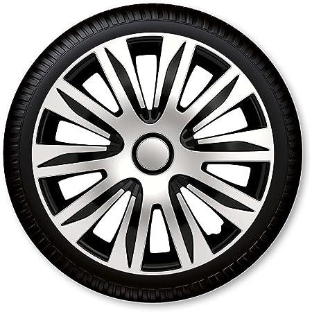 14 Zoll 15 Zoll 16 Zoll Radzierblenden Radkappen Nardo Silber Schwarz Auto