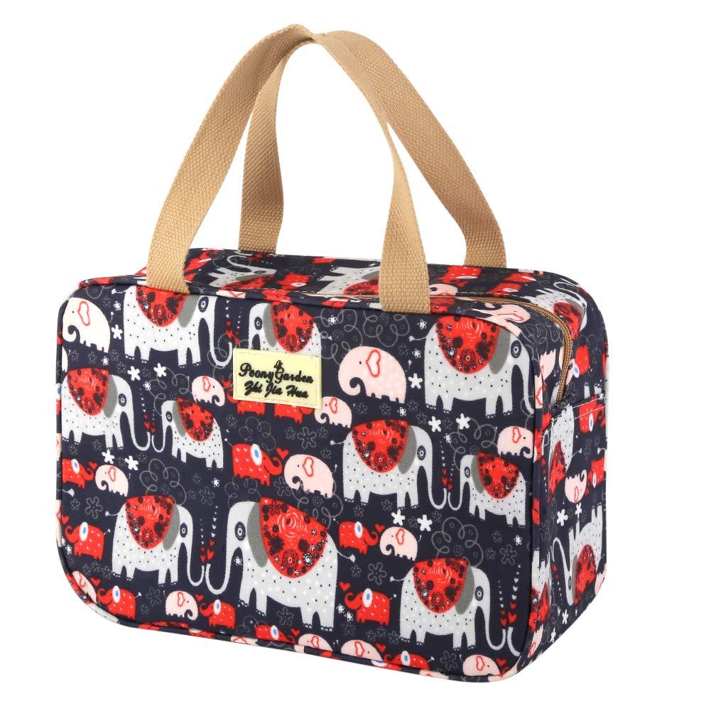 シャワーバッグ、Yeiotsy多機能かわいい漫画ウォッシュバッグ防水ジムバッグスイムバッグ化粧品バッグトラベルバッグ週末旅行バッグ