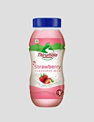 Thirumala SFM Strawberry PP Jar, 180ml