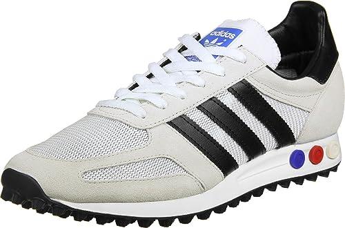 adidas Originals LA Trainer OG, Vintage Weiß-core schwarz-Clear braun