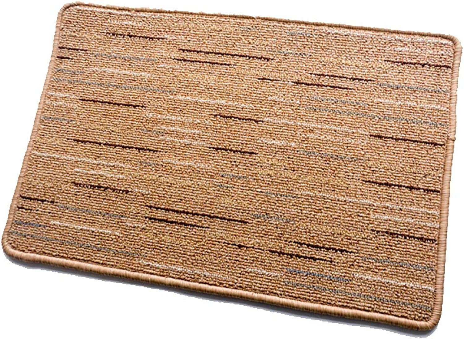 Door mat,Kitchen Rug Floor mat Low Profile Door mats Non-Slip Living Room Bedroom Area Rug Carpet-Yellow 70x140cm(28x55inch)