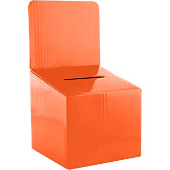 cassetta per donazioni o contributi bianco cassetta Imagein; la scelta innovative per urna elettorale Han 4102